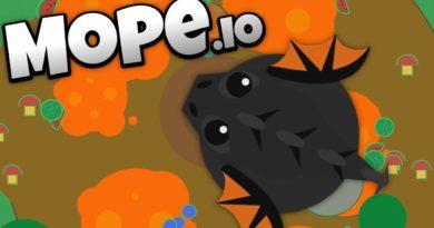 Dokážete být nejlepší v io hře Mope.io?