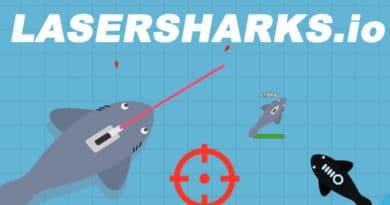 Io hra LaserSharks.io vás ponoří do mořského světa.