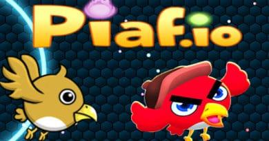 Zcela nová io hra Piaf.io je na světě.