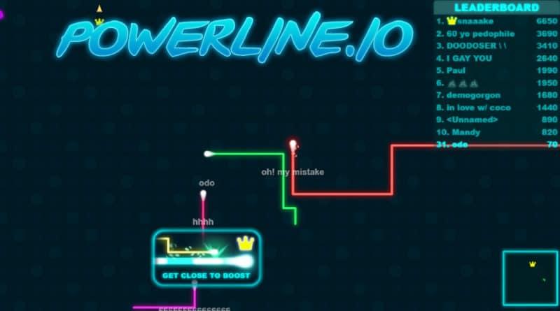 Powerline.io. Dokážete být nejlepší?