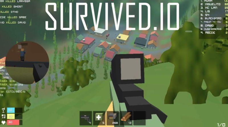 Porážejte nepřátelé v io hře Survived.io