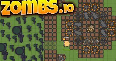 Přežijte společně s ostatními hráči útoky zombie v io hře Zombs.io